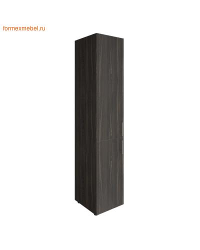Шкаф для документов узкий LT-SU 1.3 левый суар темный (фото)