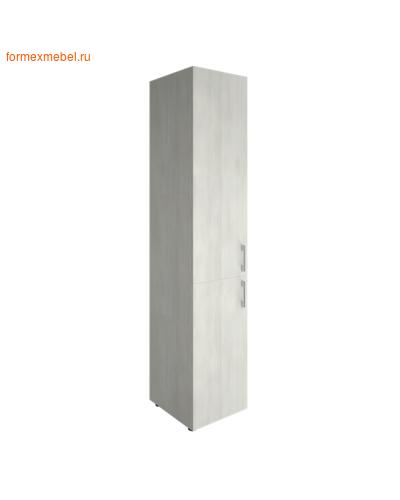 Шкаф для документов узкий LT-SU 1.3 левый снежная патина (фото)