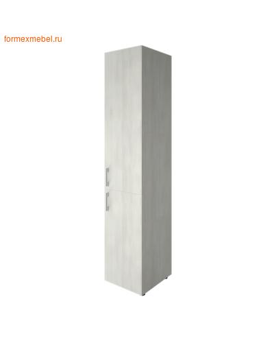 Шкаф для документов узкий LT-SU 1.3 правый снежная патина (фото)