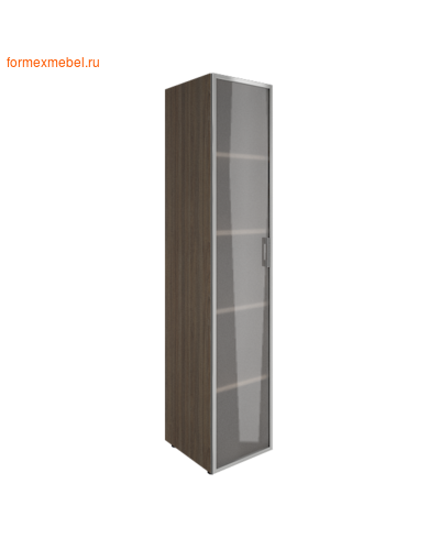 Шкаф для документов со стеклом LT-SU 1.10 R левый/ правый левый, вяз благородный (фото)