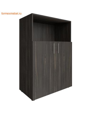 Шкаф для документов средний с нишей LT-ST 2.1 суар темный (фото)