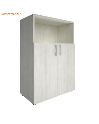 Шкаф для документов средний с нишей LT-ST 2.1 снежная патина (фото)