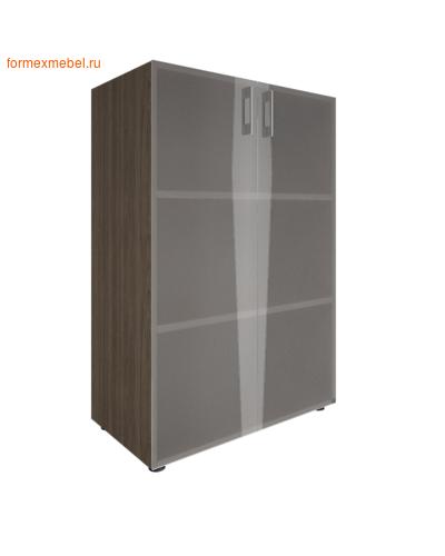 Шкаф для документов со стеклом LT-ST 2.4 вяз благородный (фото)