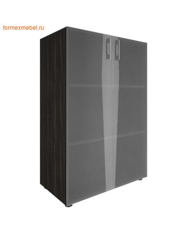 Шкаф для документов со стеклом LT-ST 2.4 суар темный (фото)