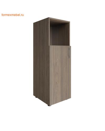 Шкаф для документов средний узкий LT-SU 2.1 л/пр вяз благородный, левый (фото)