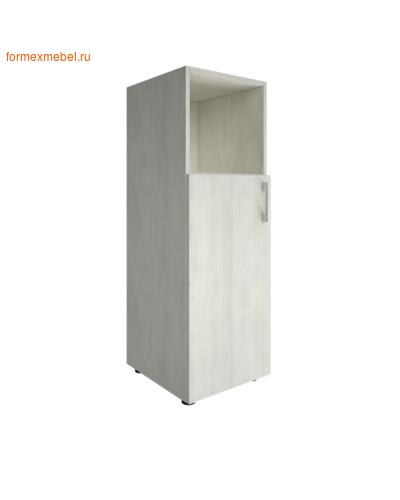 Шкаф для документов средний узкий LT-SU 2.1 л/пр снежная патина, левый (фото)