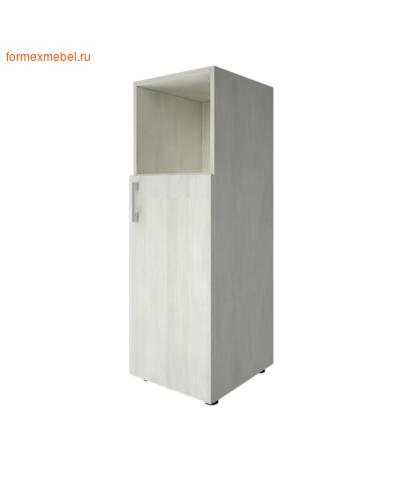 Шкаф для документов средний узкий LT-SU 2.1 л/пр снежная патина, правый (фото)