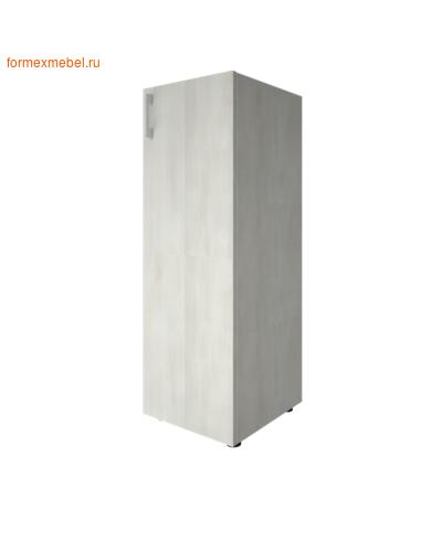 Шкаф для документов узкий средний закрытый LT-SU 2.3 снежная патина, правый (фото)