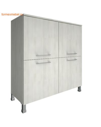 Шкаф для документов квадратный LT-SD 1.1 снежная патина (фото)