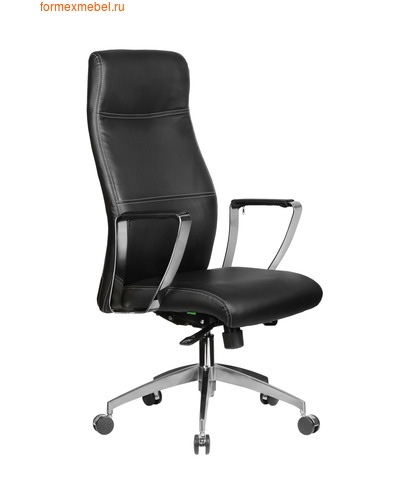 Кресло руководителя Рива RCH 9208 черное (фото)
