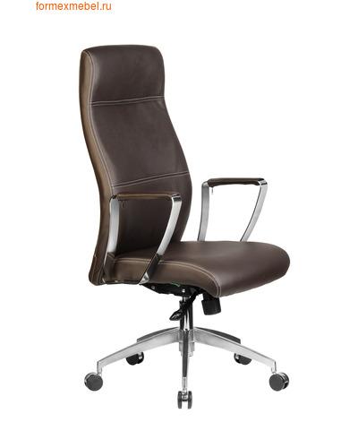 Кресло руководителя Рива RCH 9208 коричневое (фото)