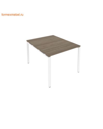 Стол для совещаний Б.ПРГ-1.1 ( 1 столешница) вяз благородный/белый металл (фото)