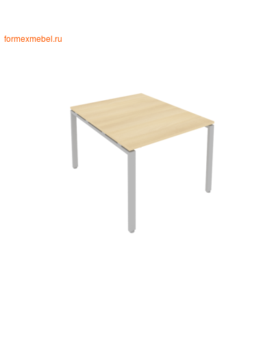 Стол для совещаний Б.ПРГ-1.1 ( 1 столешница) акация/белый металл (фото)