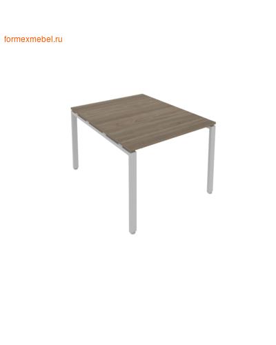 Стол для совещаний Б.ПРГ-1.1 ( 1 столешница) вяз благородный/серый металл (фото)