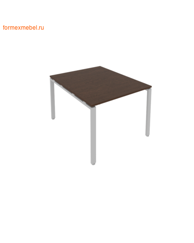Стол для совещаний Б.ПРГ-1.1 ( 1 столешница) венге цаво/серый металл (фото)