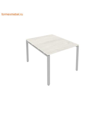 Стол для совещаний Б.ПРГ-1.1 ( 1 столешница) дуб наварра/серый металл (фото)