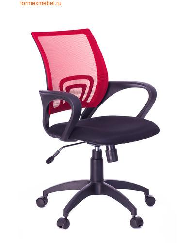 Компьютерное кресло Бюрократ CH-695N красная сетка (фото)