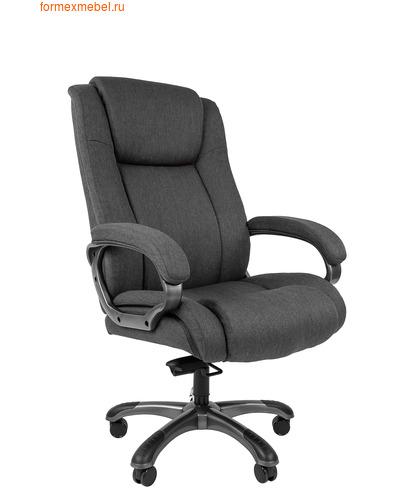 Кресло руководителя Chairman CH 410 серая ткань (фото)