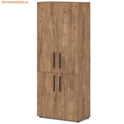 Шкаф для документов широкий высокий Lavana T-673 таксония медовая (фото)