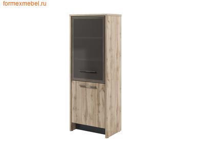Шкаф для документов ЭКСПРО Торстон со стеклом Т-31-12л/пр дуб Вотан левый (фото)