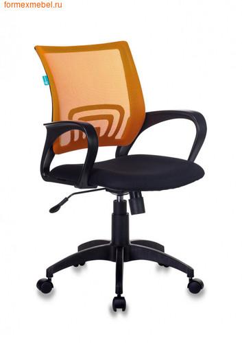 Компьютерное кресло Бюрократ CH-695N оранжевая сетка (фото)