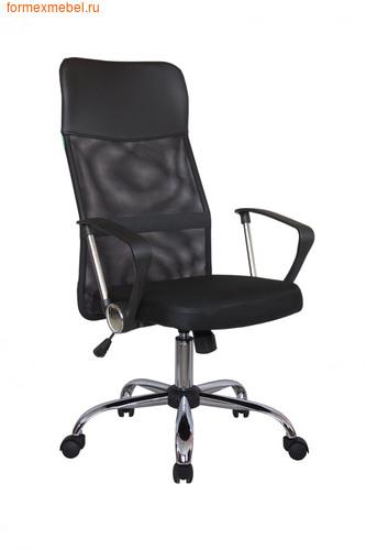 Компьютерное кресло Рива RCH 8074 черное сиденье-черная спинка-черный подголовник (фото)