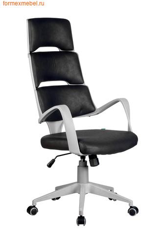 Компьютерное кресло Рива Sakura серый пластик фьюжн черный (фото)