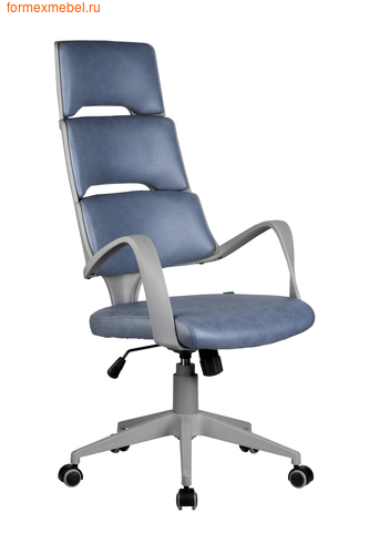 Компьютерное кресло Рива Sakura серый пластик фьюжн альпийское озеро (фото)