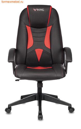 Компьютерное игровое кресло Бюрократ Viking-8 Viking-8/Black+Red (фото)