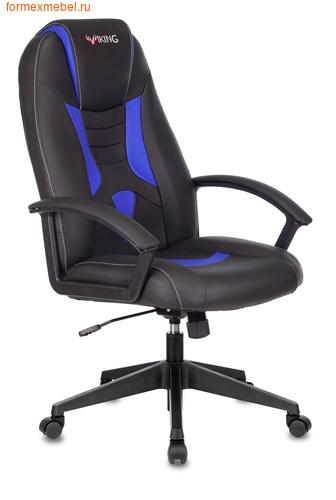 Компьютерное игровое кресло Бюрократ Viking-8 Viking-8/Black+Blue (фото)