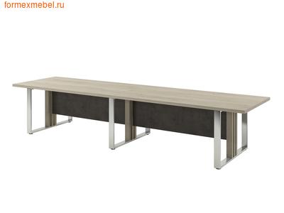 Стол для совещаний ЭКСПРО Vestar Z-104 Дуб Галифакс белый/бетон Чикаго (фото)