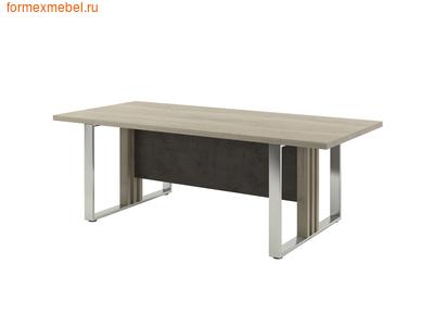 Стол для совещаний ЭКСПРО Vestar Z-102 Дуб Галифакс белый/бетон Чикаго (фото)