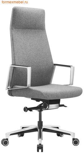 Кресло руководителя Бюрократ JONS серый кашемир (фото)
