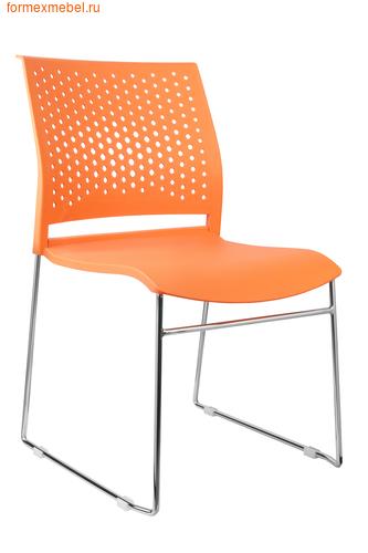 Стул офисный Рива D918 оранжевый (фото)