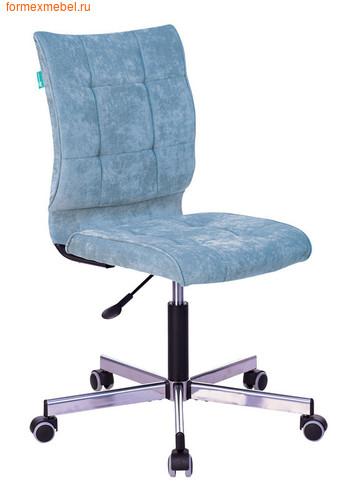 Компьютерное кресло Бюрократ CH-330M/ткань серо-голубая ткань (фото)