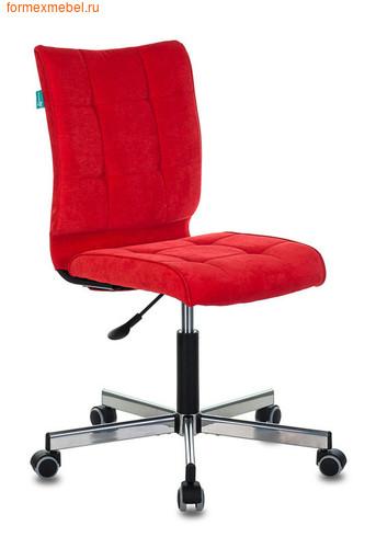 Компьютерное кресло Бюрократ CH-330M/ткань красный вельвет (фото)