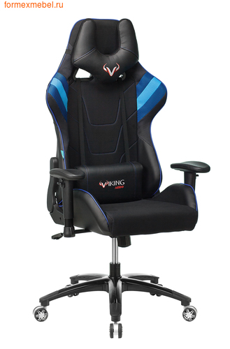 Компьютерное кресло Бюрократ Viking-4 AERO Viking-4 AERO /Blue (фото)