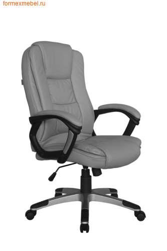 Кресло руководителя Рива RCH 9211 серое (фото)