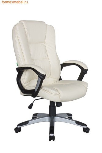 Кресло руководителя Рива RCH 9211 бежевое (фото)