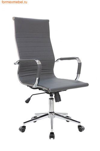 Компьютерное кресло Рива RCH 6002-1SE серое (фото)