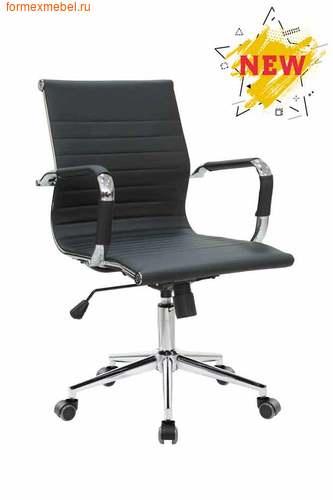 Компьютерное кресло Рива RCH 6002-2SE черное (фото)