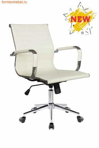 Компьютерное кресло Рива RCH 6002-2S белое (фото)