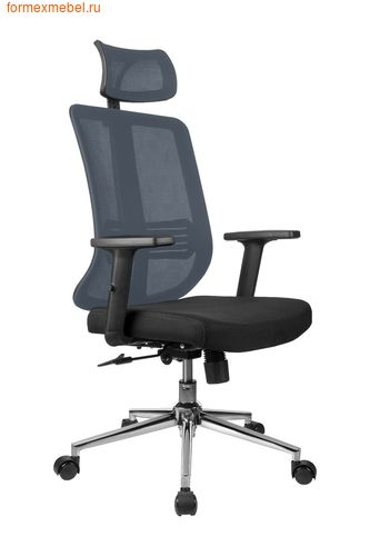 Компьютерное кресло Рива RCH A663 серое (фото)