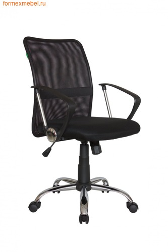 Компьютерное кресло Рива RCH 8075 черная сетка (фото)