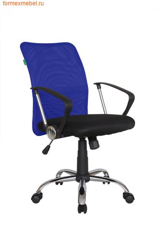 Компьютерное кресло Рива RCH 8075 синяя сетка (фото)