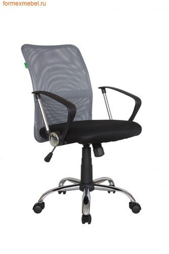 Компьютерное кресло Рива RCH 8075 серая сетка (фото)
