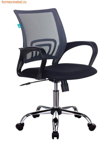 Компьютерное кресло Бюрократ CH-695N-SL CH-695N/SL-Grey  серое (фото)