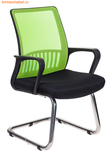 Кресло для посетителей офисное Бюрократ MC-209 MC-209/SD/TW-11 салатовое (фото)