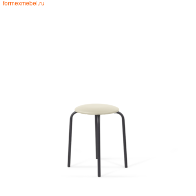 Табурет Табурет Bl экокожа Santorini, сиденье круглое (фото)