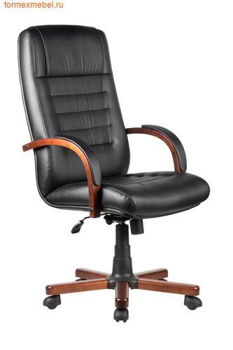 Кресло руководителя Рива M 155 A экокожа черная (фото)